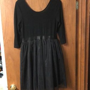 ModCloth A-Line Dress with Tulle